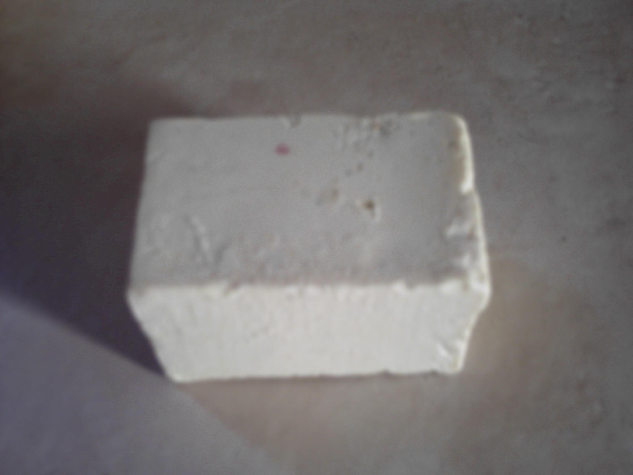 Após todo o processo de confecção e corte anteriormente descritos, foram obtidas 2047 pedras de sabão, cujo formato e aspecto físico podem ser vistos na Figura 4