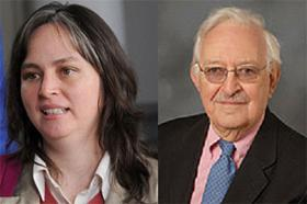 I. Wallerstein e Mercedes Canese