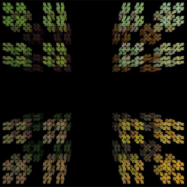 igura 1: A poeira de Cantor em uma visão tridimensional