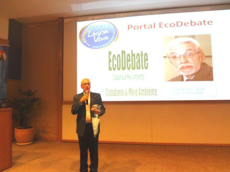 Henrique Cortez, representando a equipe do Portal EcoDebate