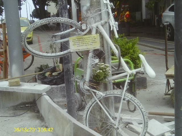 A bicicleta fantasma