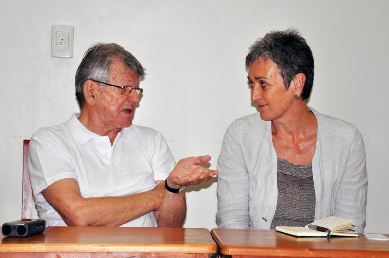 Deputadas europeias encontram o bispo do Xingu, Dom Erwin Krautler
