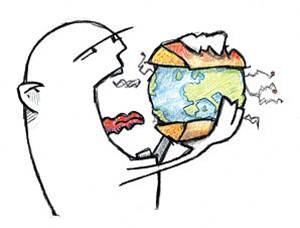 'comendo' o planeta