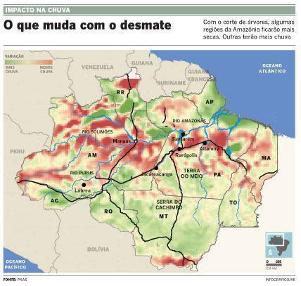 COP 15: Estudo do Inpe sugere que aquecimento global pode afetar Brasil até 20% mais que a média