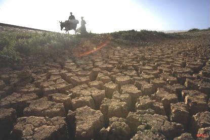 Mudanças Climáticas: seca, desertificação...