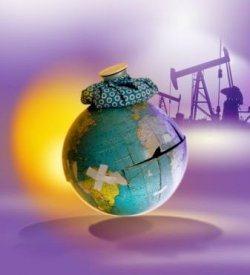 acelerada degradação do planeta