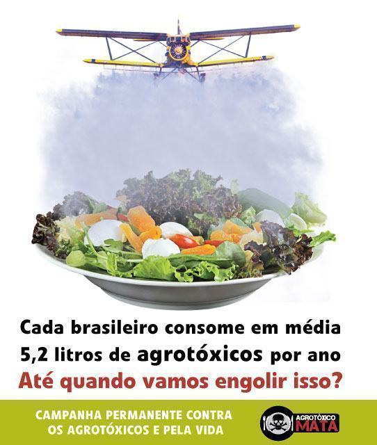 Campanha Contra os Agrotóxicos e Pela Vida
