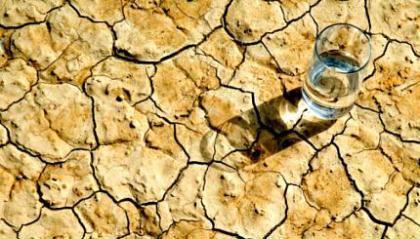 Água, período de escassez