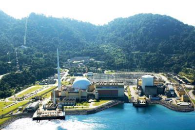 Usina Nuclear de Angra 2, foto da Eletronuclear