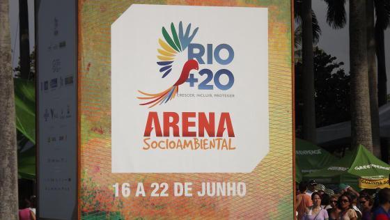 Arena Socioambiental, da Cúpula dos Povos na Rio+20