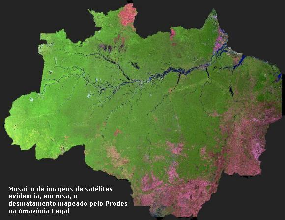 desmatamento na Amazônia Legal