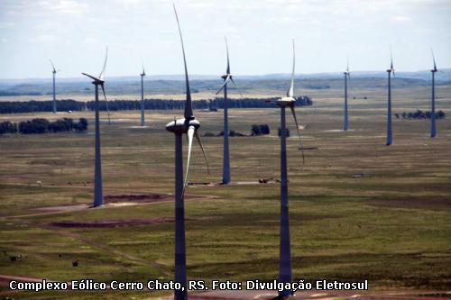 Parque Eólico de Cerro Chato. Foto: Divulgação