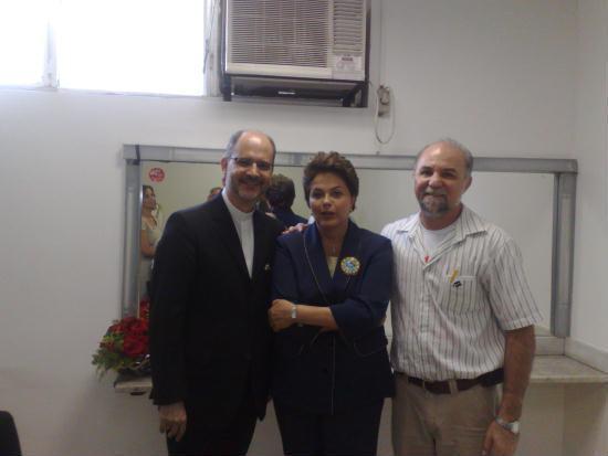 Presidenta Dilma recebe Dom J. Mol e frei Gilvander