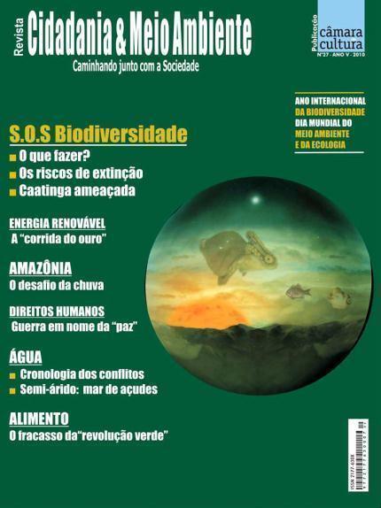 Capa da edição n° 27 Cidadania & Meio Ambiente
