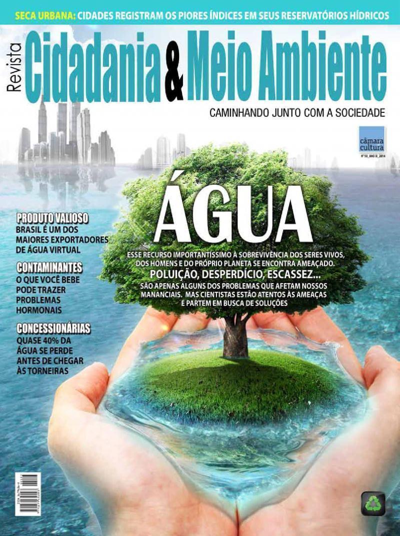 Edição n° 50 da revista Cidadania & Meio Ambiente