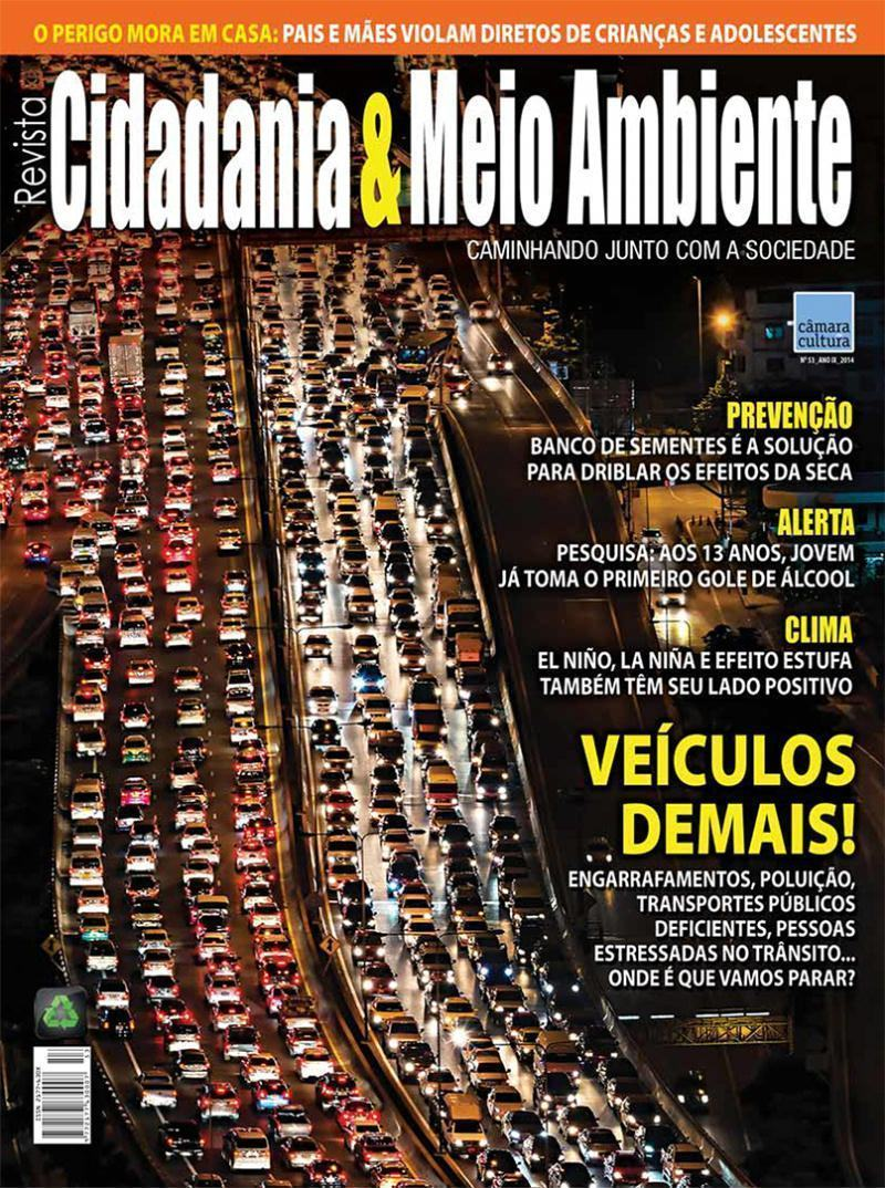 Edição n° 53 da revista Cidadania & Meio Ambiente