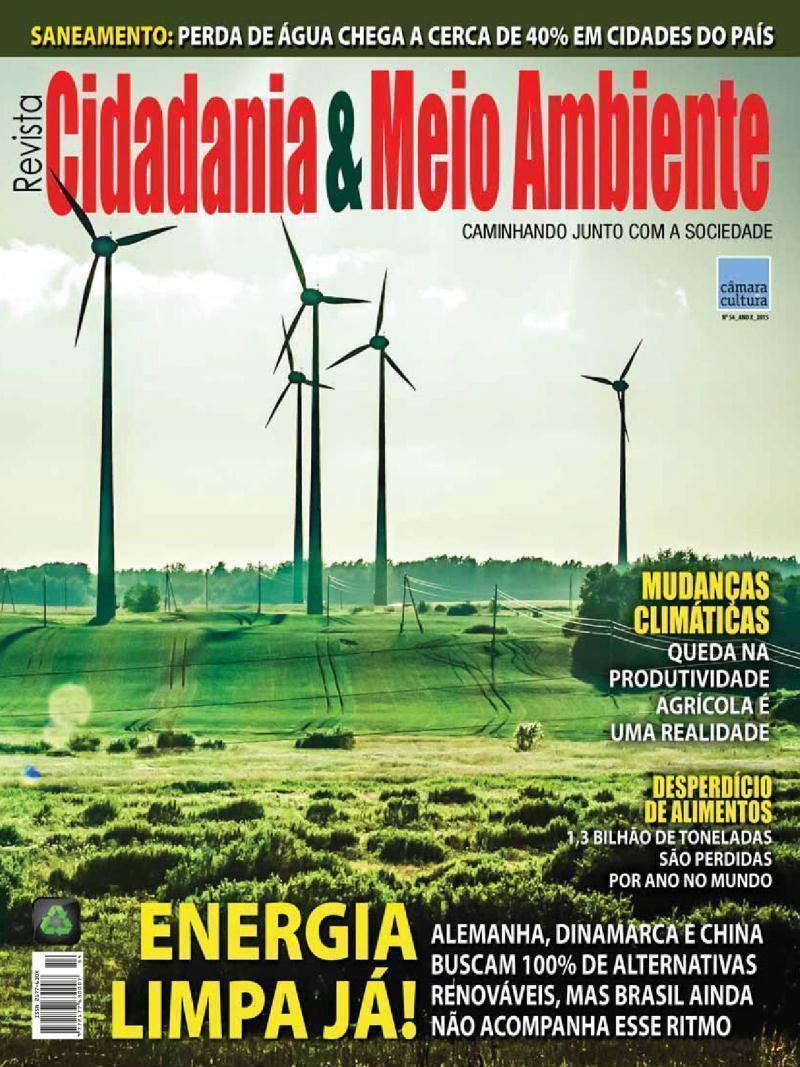 Edição n° 54 da revista Cidadania & Meio Ambiente