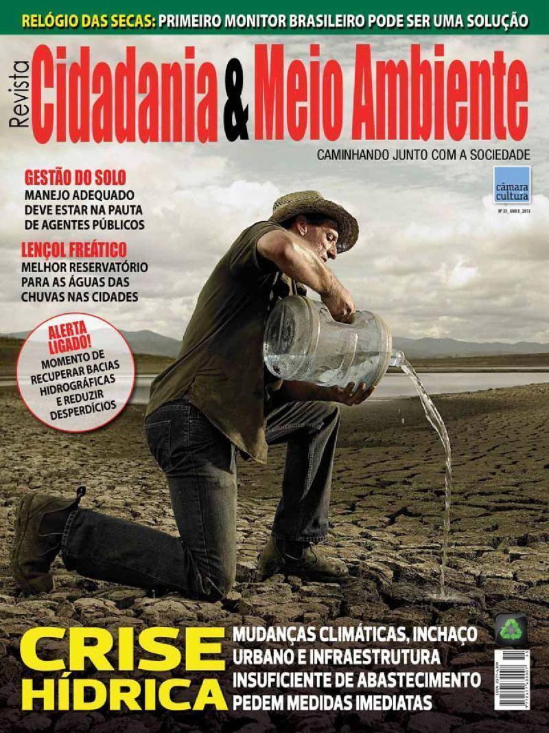 Edição n° 55 da revista Cidadania & Meio Ambiente