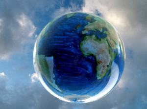 um planetinha azul
