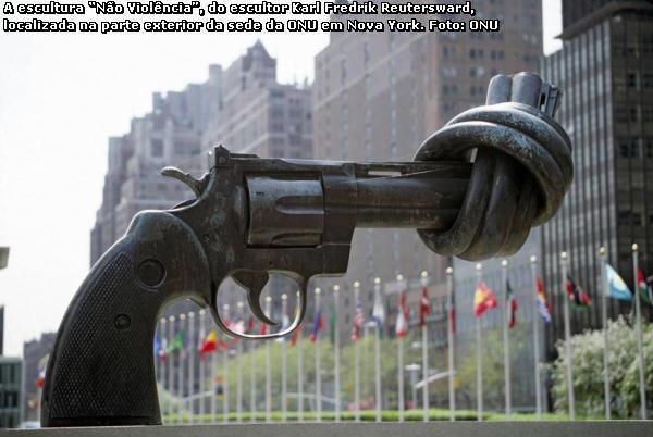 pelo fim das armas