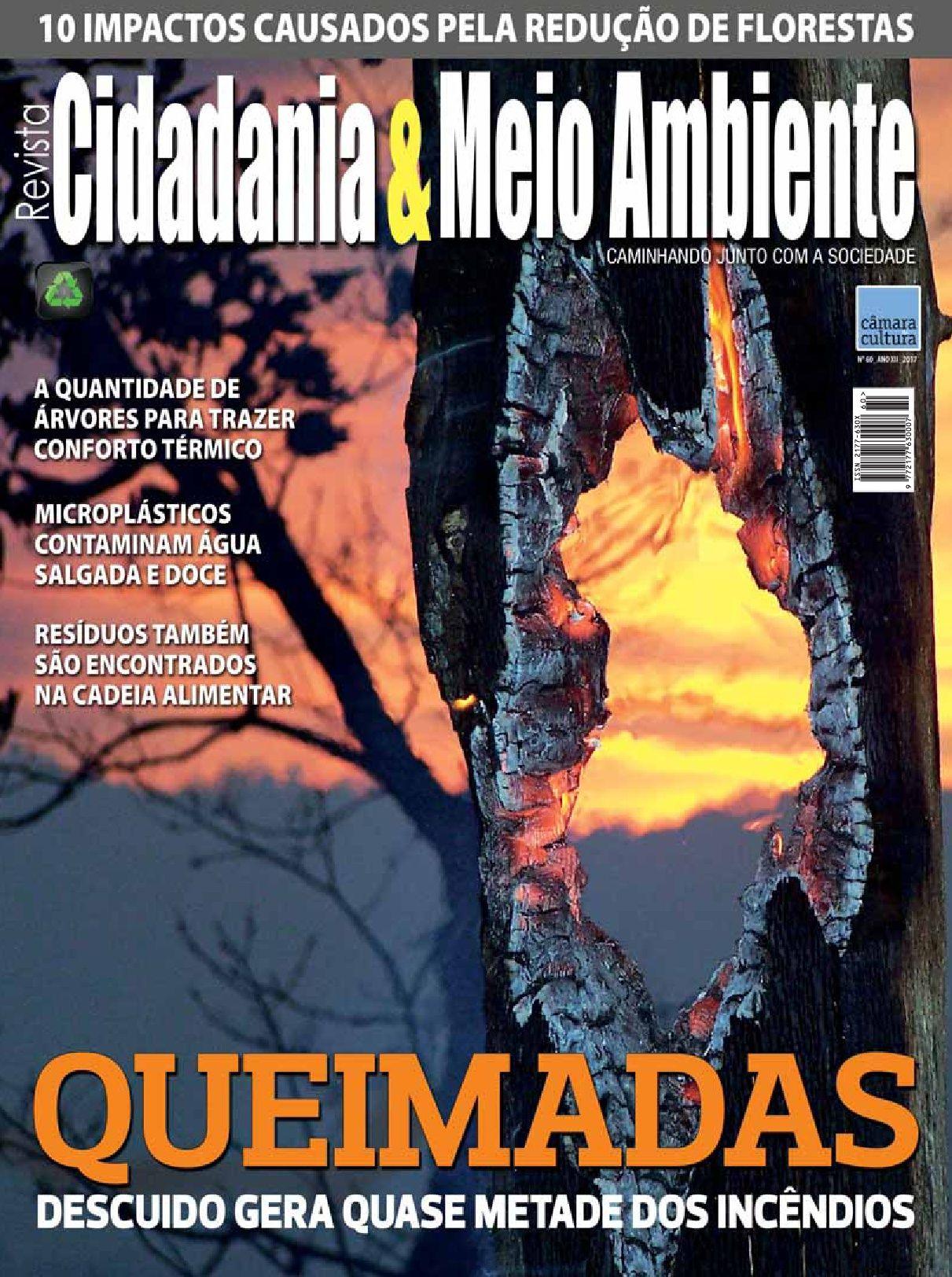 Edição n° 60 da revista Cidadania & Meio Ambiente