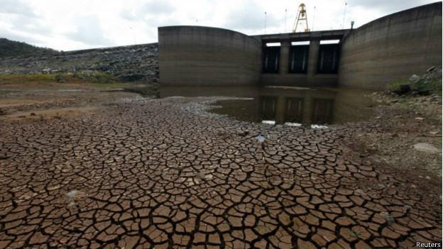 reservatório seco