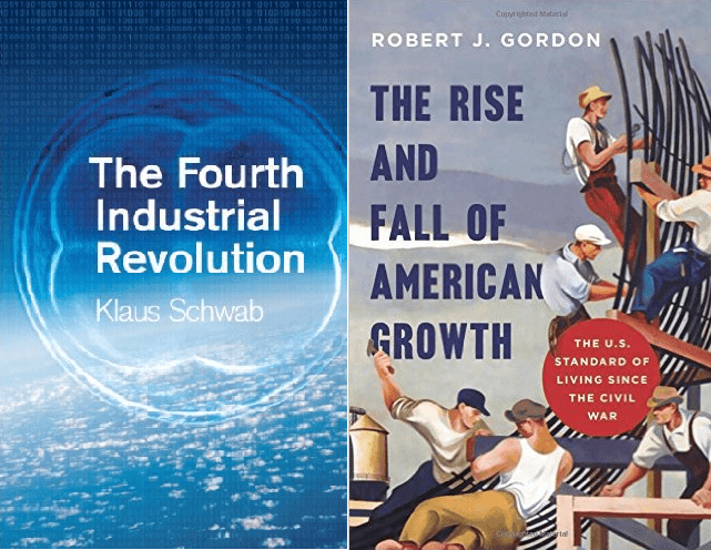 "livro ""The fourth industrial revolution"", de Klaus Schwab"