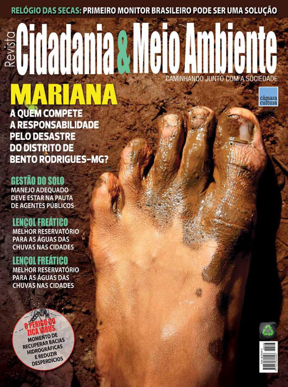 Edição n° 56 da revista Cidadania & Meio Ambiente