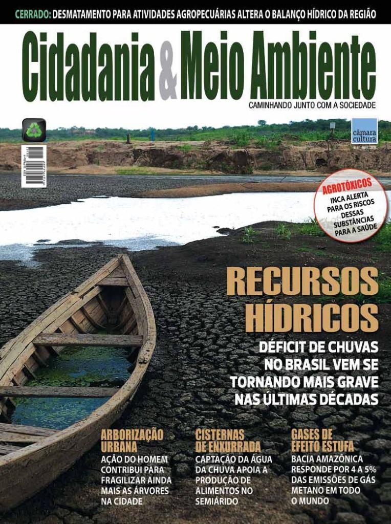 Capa da edição n° 57 da revista Cidadania & Meio Ambiente