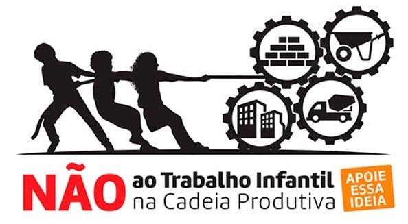 NÃO ao trabalho infantil