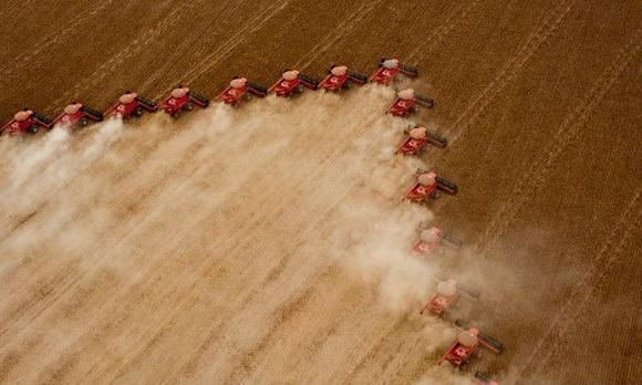 agricultura comercial mecanizada