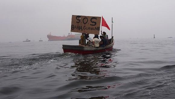 A Baía de Guanabara grita SOS