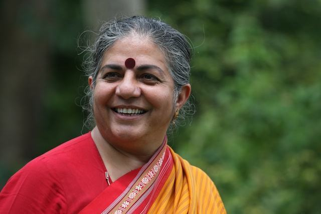 Vandana Shiva, física, filósofa, ativista ecofeminista
