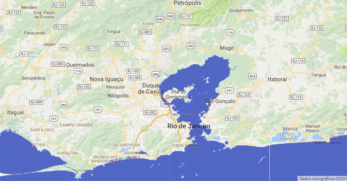 região metropolitana do Rio de Janeiro