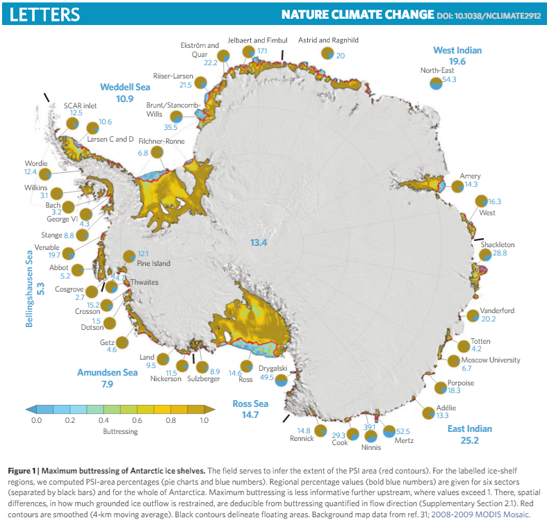 gelo na antartica