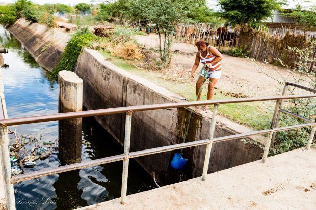 Foto 3 – Canal do Moxotó em Ibimirim - PE