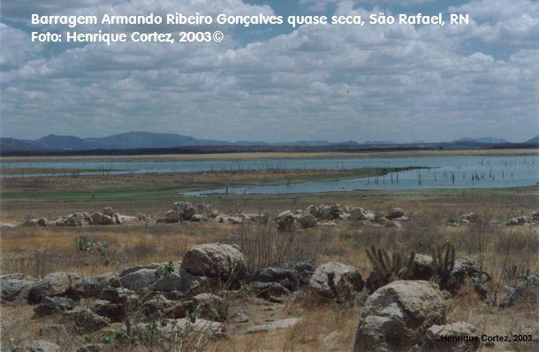 barragem Armando Ribeiro Gonçalves, RN