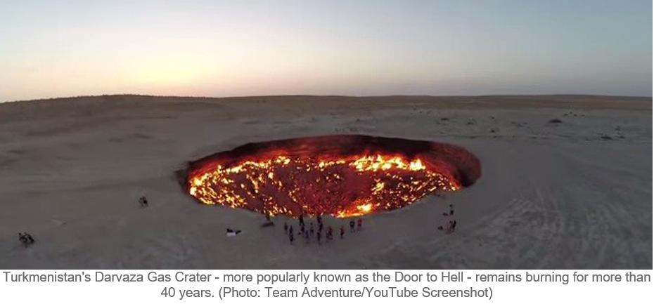 cratera de gás Darvaza