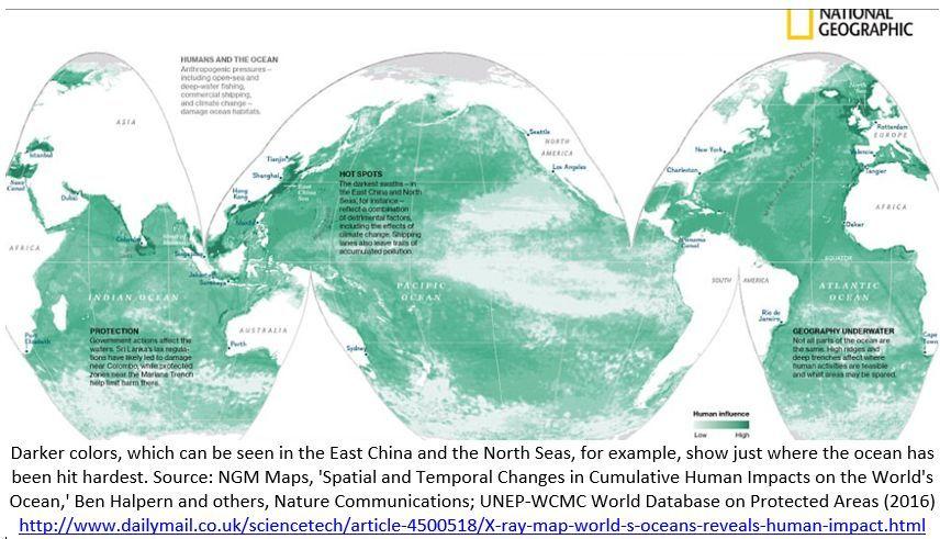 sobrepesca e a degradação dos oceanos
