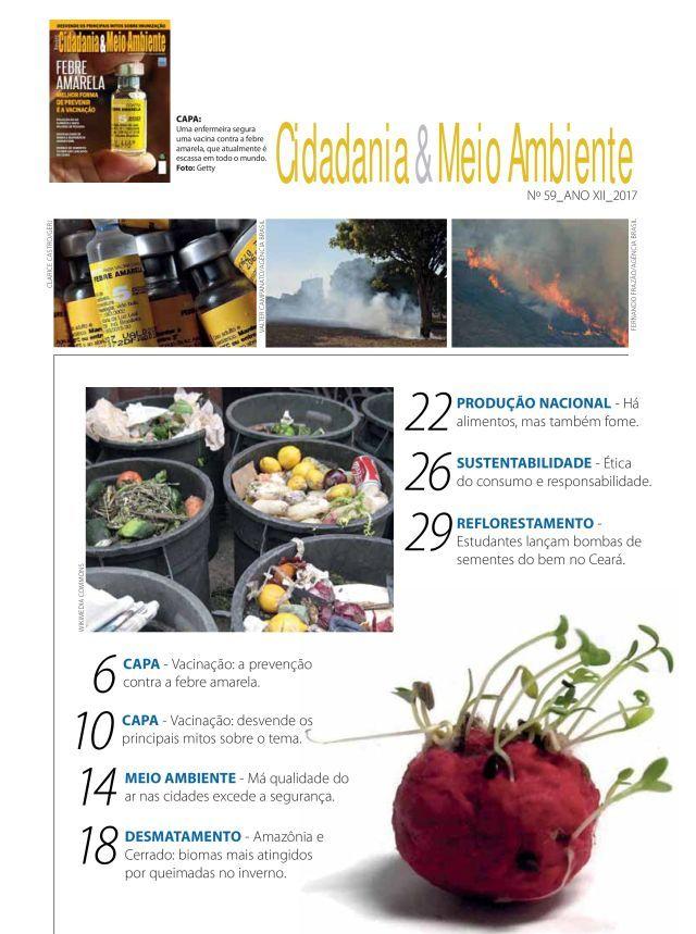 revista Cidadania & Meio Ambiente 59 - índice