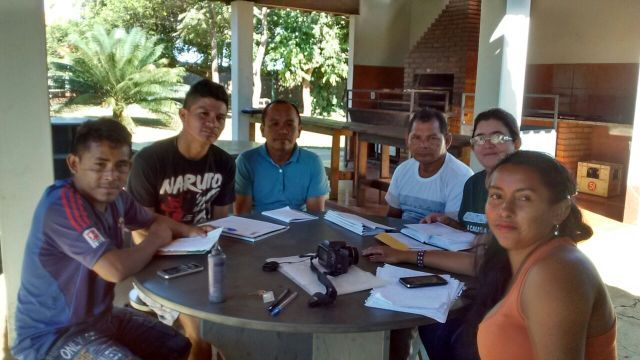 Delegação das etnias Kokama, Deni, Maku Nedëb, Miranha e Kanamari