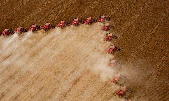agricultura mecanizada