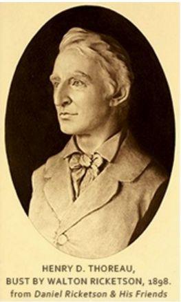 Henry David Thoreau (12/07/1817-06/05/1862)