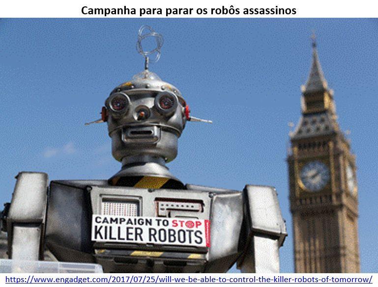 campanha para parar os robôs assassinos