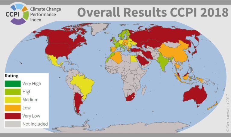Índice de Desempenho Climático 2018