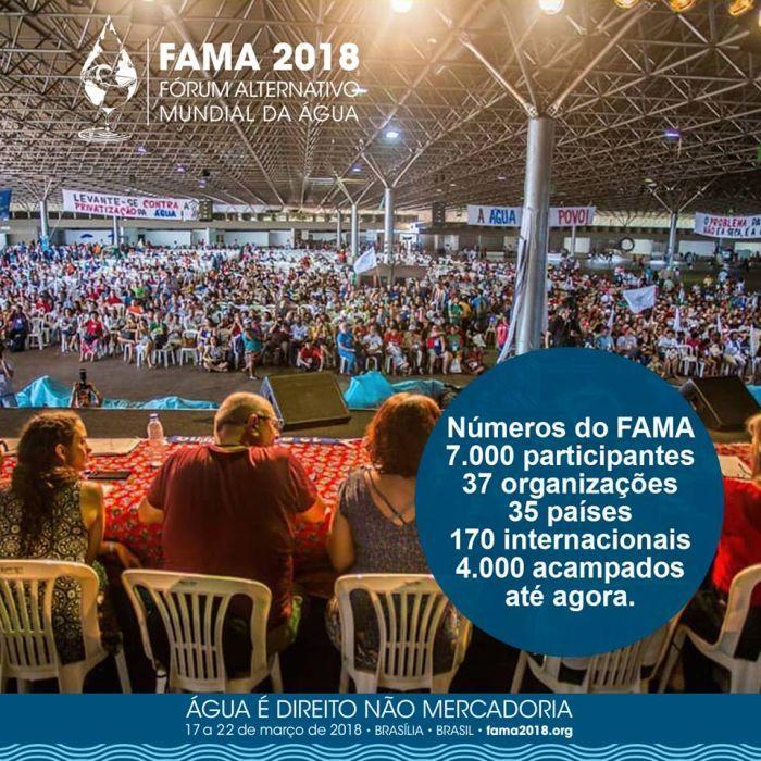 FAMA 2018: a água tem direitos e é bem comum