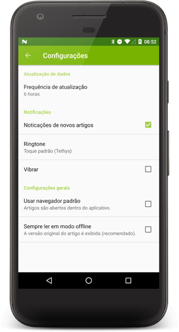 aplicativo EcoDebate de notícias ambientais 3