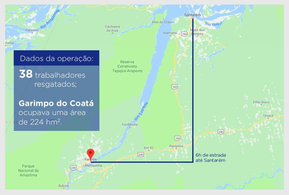 Trabalho Escravo: Auditores resgatam 38 trabalhadores de garimpo ilegal no Pará