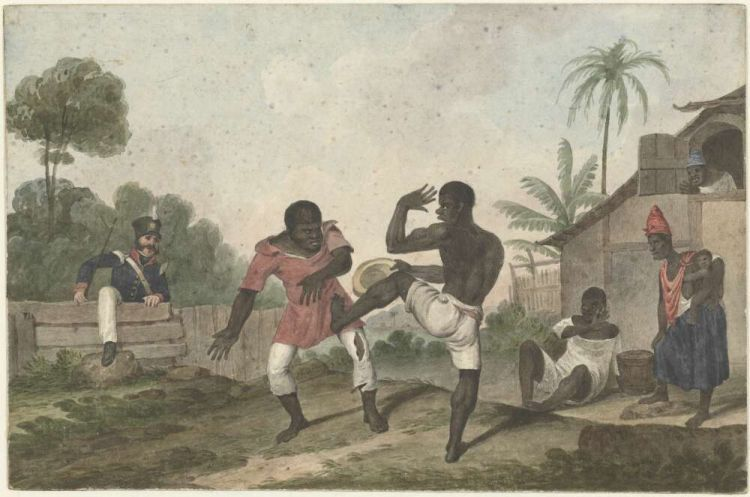 Capoeira - Tela de Augustus Earle