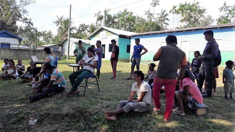 Povo Kanamari realiza o 1º Mutirão em Defesa dos Direitos Indígenas, em Maraã, Amazonas